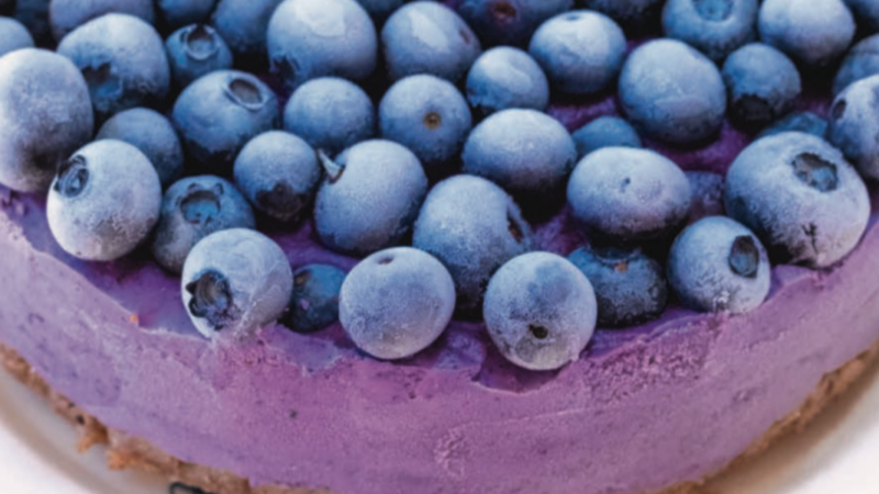BANNER Blueberry Cheesecake